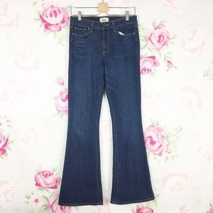 PAIGE High Rise Bell Canyon Flare Denim Jeans 29